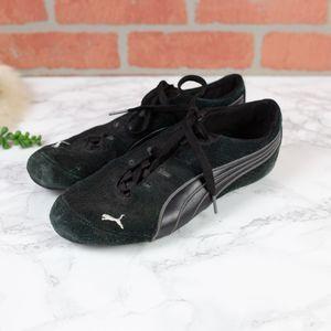 Puma Black Suede Sneakers 7
